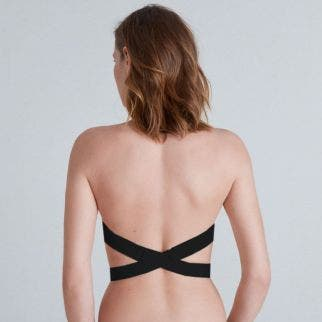 Plunging back accessory Black
