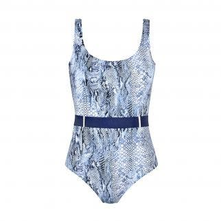 Wireless one-piece - Imprimé Bleu