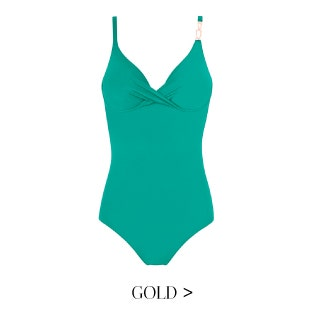Maillot 1 pièce Gold