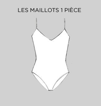Les Maillots 1 pièce